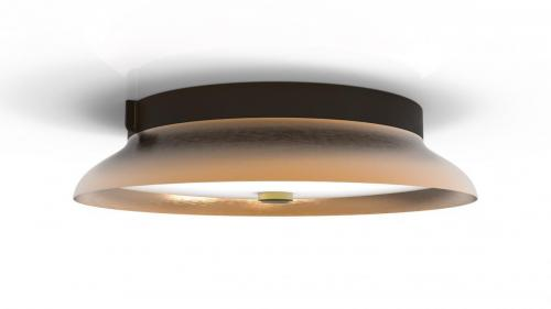 Living Lightly ceiling leather copper